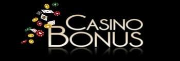 Casino bonus med flygande spelmarker och spelkort